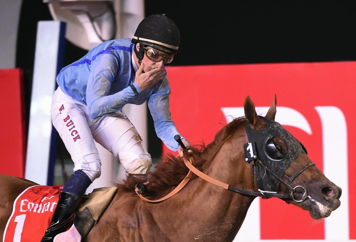 PRINCE%20BISHOP%20(Saeed%20bin%20Suroor-William%20Buick)%20wins%20the%2020th%20Dubai%20World%20Cup-Emirates%20Airlines%2C%2028-Mar-2015%20(MK)%20(5)