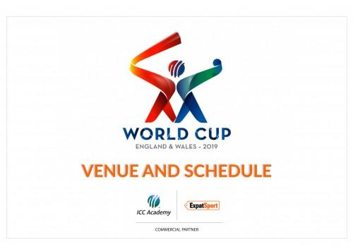2019 cricket world cup schedule